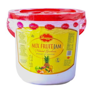 Shezan Mix Fruit Jam Natural - 2kg, use in break fast and lunch