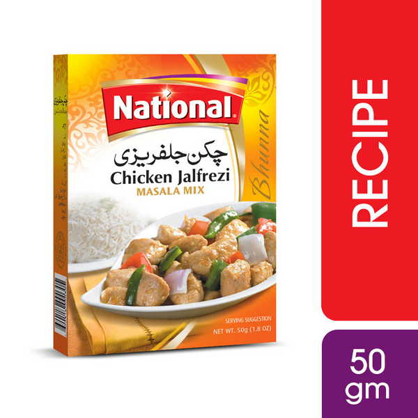 National Chicken Jalfrezi Masala 50gm Grozar Pk