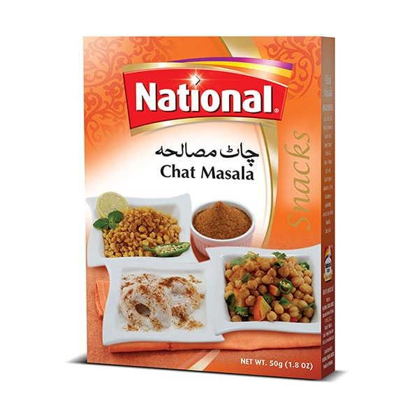 National Fruit Chaat Masala - 50gm