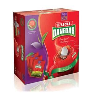 Grozar Tapal Danedar Enveloped Tea Bags - 50 Pcs