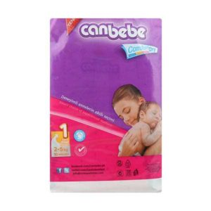 Canbebe Ticky Pack New Born Diaper Size 1