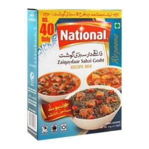 National Chatkharaydaar Sabzi Recipe Mix, 23g x 2
